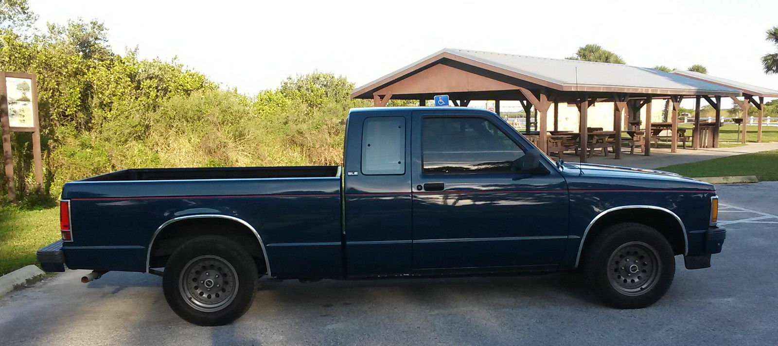 Rust Free 1991 Gmc Sonoma Sle Extended Cab Excellent Original Stock Truck Classic Chevrolet S 10 1991 For Sale