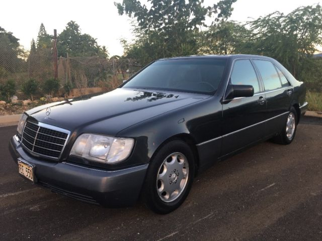 S420 mercedes benz 1994 w140 sedan rare low 41 500 for Mercedes benz s420 for sale