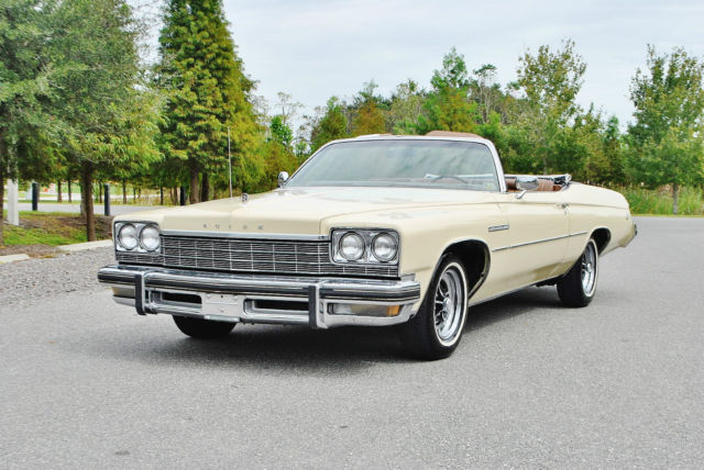 Said To Be 20 000 Real Miles 1975 Buick Lesabre Convertible Clic Collectable