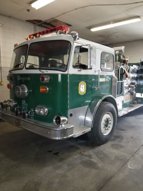 Seagrave Fire Apparatus >> Seagrave Fire Truck Classic Other Makes 1980 For Sale
