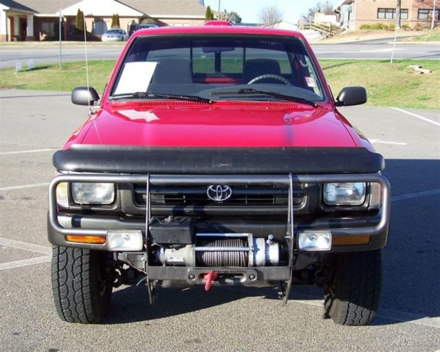 22re Engine For Sale >> SHARP SLICK VERY CLEAN 4WD FUEL INJ CLOTH CARPET CD WARN ...