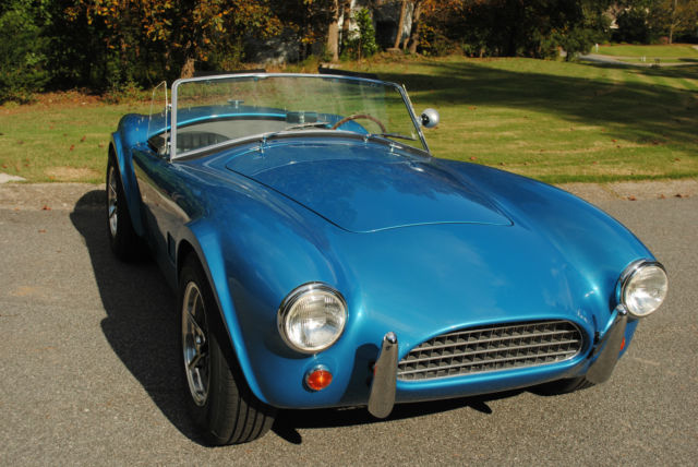 Shelby Cobra Kirkham Slab Side Ford