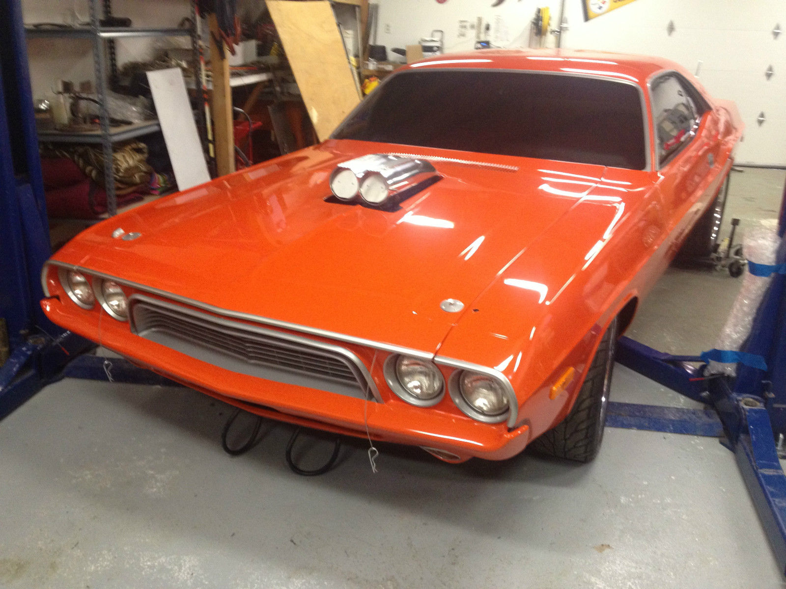 SHOW 1973 Dodge Challanger 512 stroker 588 hp - Classic Dodge Challenger 1973 for sale