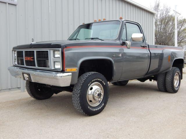 Sierra Classic Dually, 454 Big Block, Rust Free - Classic ...