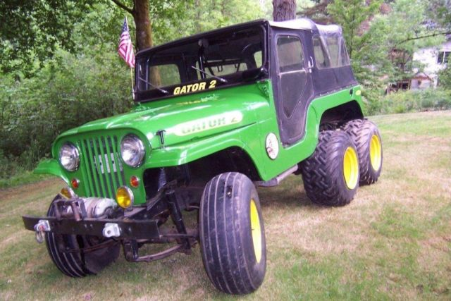 Six Wheel Drive Jeep 1966 CJ-6 6x6 - Classic Jeep CJ 1966 ...