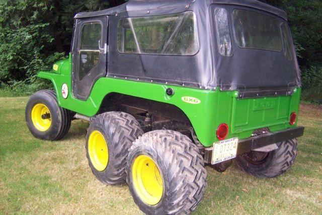 Six Wheel Drive Jeep 1966 CJ-6 6x6 - Classic Jeep CJ 1966 ...