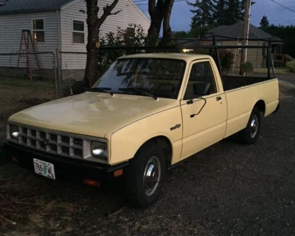 small diesel pickup 1984 isuzu pup 2 2 liter long bed. Black Bedroom Furniture Sets. Home Design Ideas