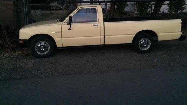 Small Diesel Pickup 1984 Isuzu Pup 2 2 Liter Long Bed