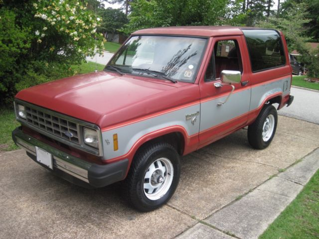 southern 1985 ford bronco ii xlt 4 wheel drive no rust 136 000 miles classic ford bronco ii. Black Bedroom Furniture Sets. Home Design Ideas