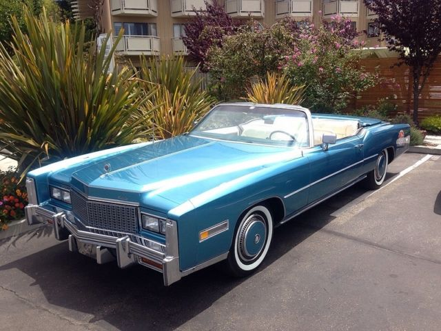 Spectacular Crystal Blue Eldorado With Flawless New 78 Biarritz Interior Classic Cadillac