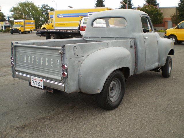 STRAIGHT AXLE GASSER RAT ROD Classic Studebaker PICKUP