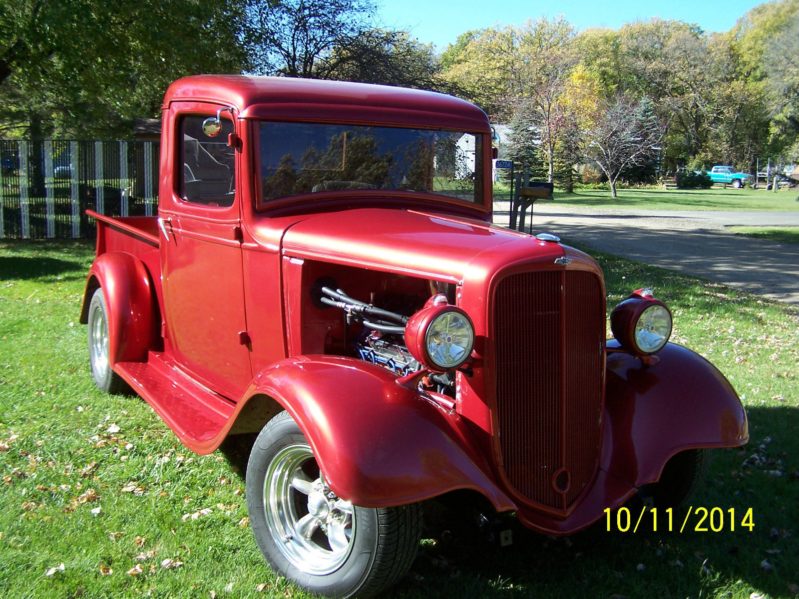 Street Rod 1935 Chevy Pickup Classic Chevrolet Other