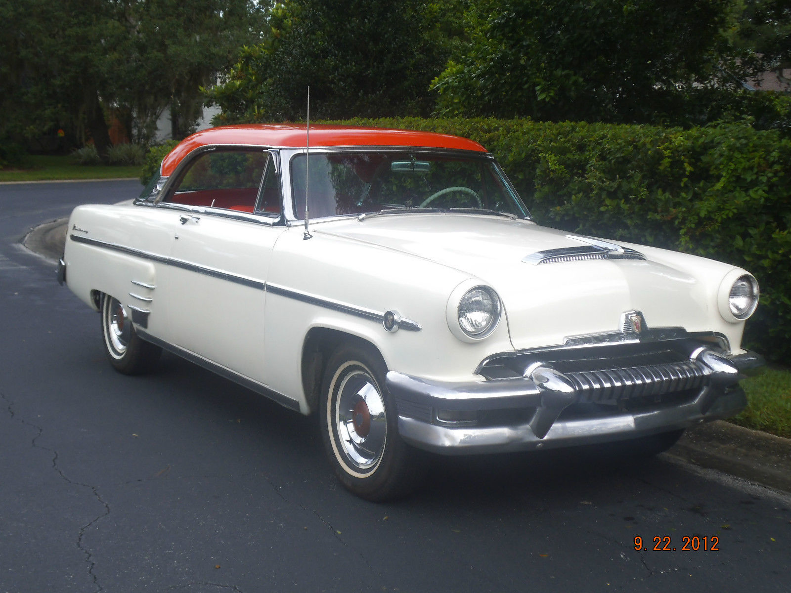 Stunning 1954 mercury 2 door hardtop original almond and for 1954 mercury 2 door hardtop
