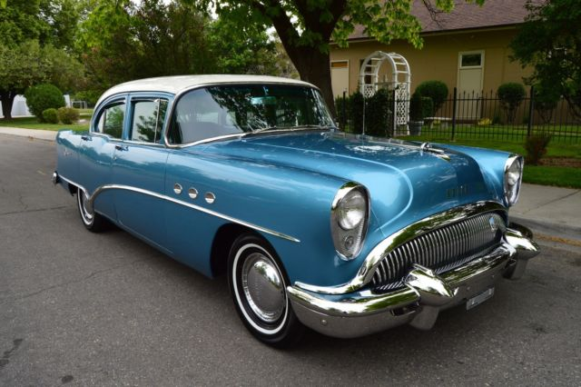 STUNNING RESTORED 47K ACTUAL MILE 1954 BUICK SERIES 40