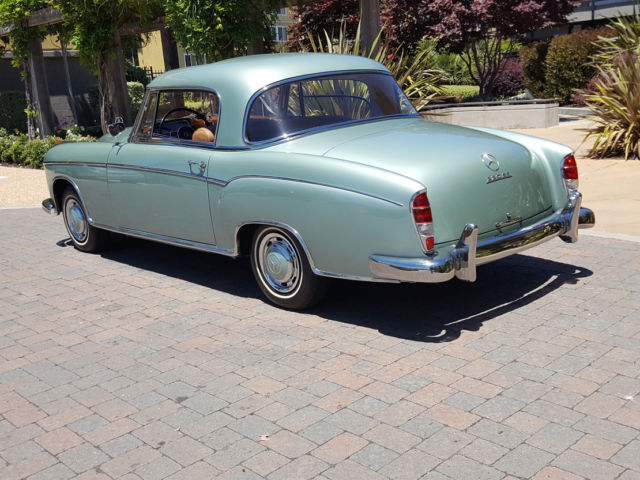 Stunning ultra rare 1960 mercedes benz 220se 4 speed stick for Mercedes benz stick shift