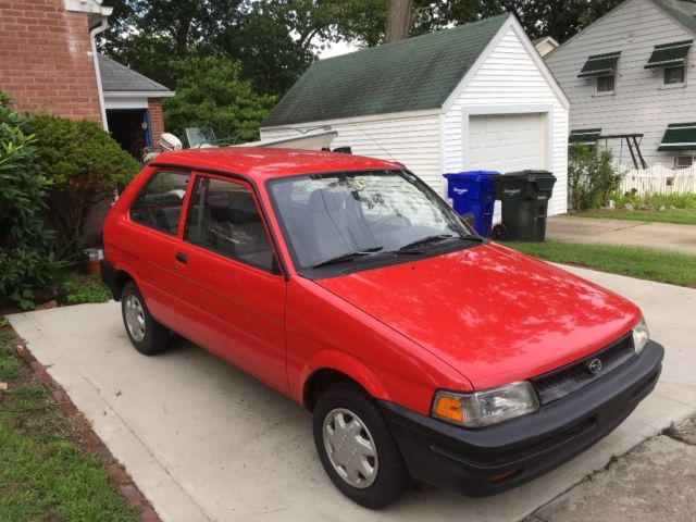 Subaru Justy Barn Find Rare