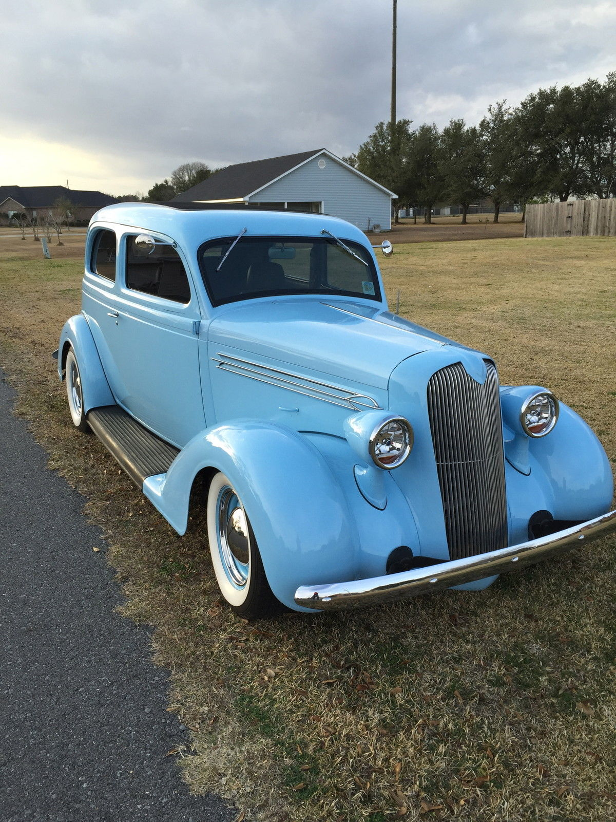 Super Nice 1936 Plymouth Sedan Street Rod Classic Dodge