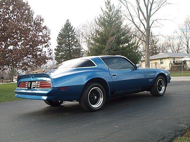 Super Nice T Top 1978 Pontiac Firebird Formula 400