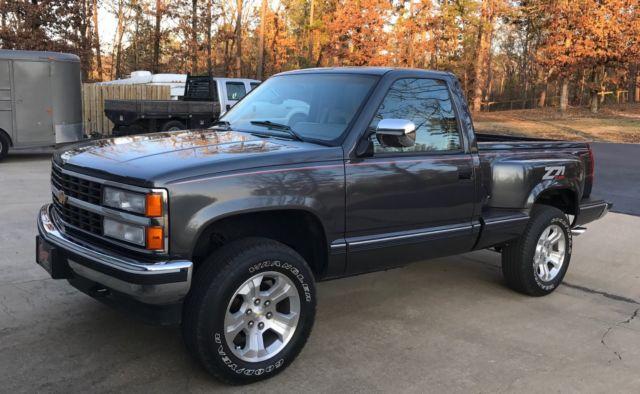 Trucks For Sale In Arkansas >> Super Rare 1992 Chevrolet Z71 Regular-Cab Silverado Sportside - Classic Chevrolet Silverado 1500 ...