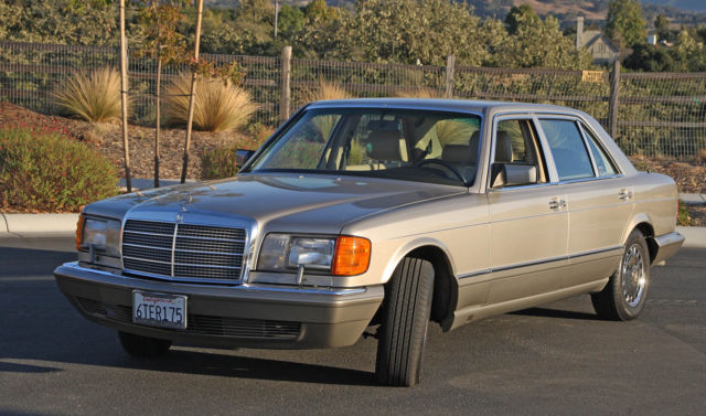 Superb 1990 mercedes 420sel three owners and only 69 854 for Mercedes benz downtown la service