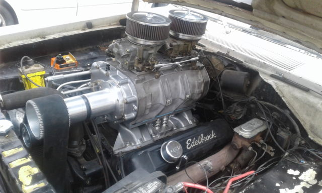 Supercharged Blown 383 1967 Plymouth Valiant Mopar