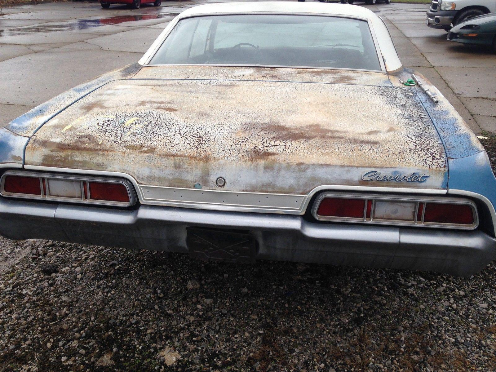 supernatural 1967 chevrolet impala 327 4 door hardtop classic chevrolet impala 1967 for sale. Black Bedroom Furniture Sets. Home Design Ideas