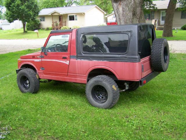 Suzuki Samurai Lwb X For Sale