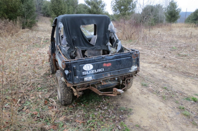 Suzuki Samurai Salvage Parts