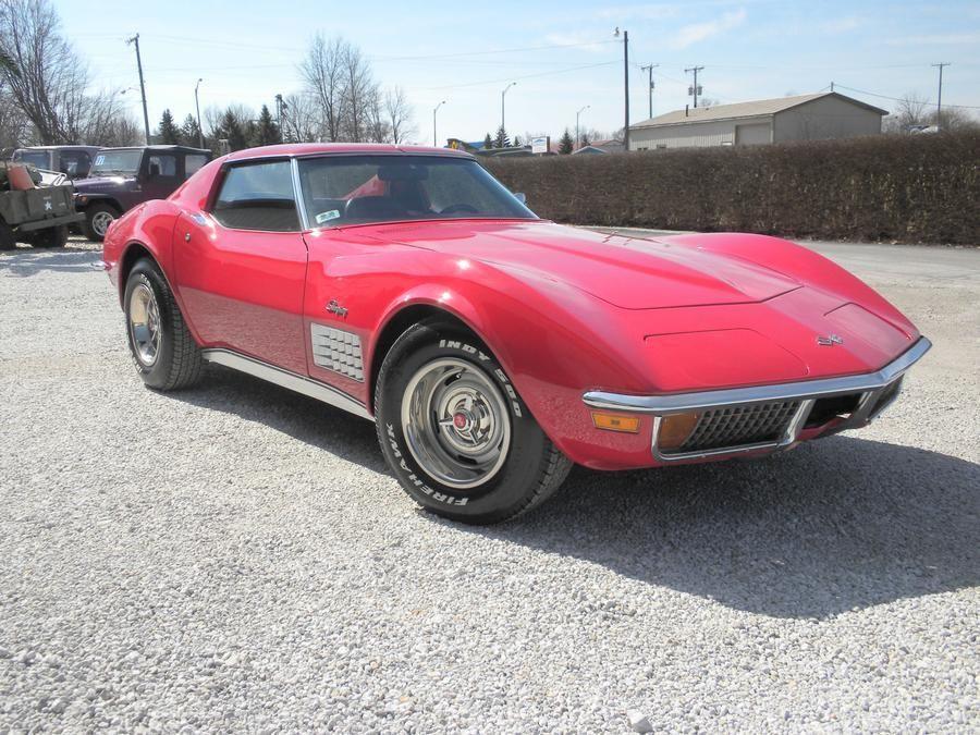 Sweet 1972 Red Corvette - Classic Chevrolet Corvette 1972