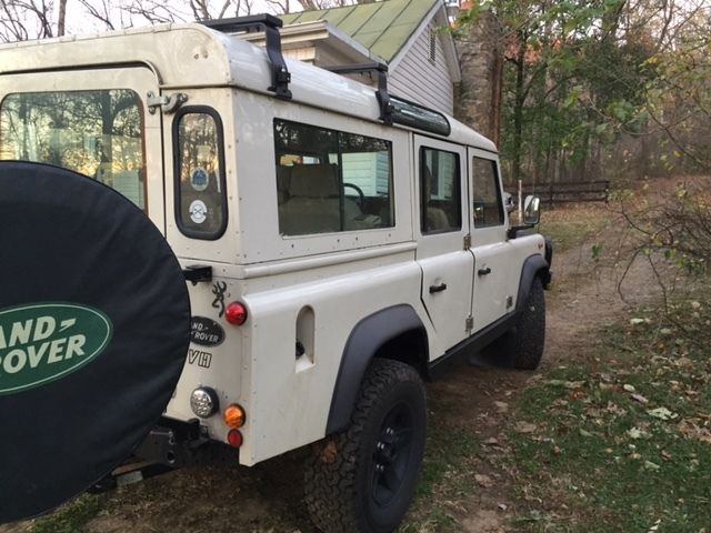 tastefully updated Land Rover Defender 110 - Classic Land