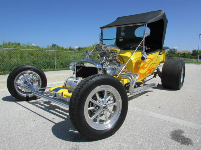 Drive Time Cars >> THE YELLOWJACKET CUSTOM SHOW CAR HOT STREET ROD T BUCKET DAFFY'S CCR 327cid V8 - Classic Ford ...