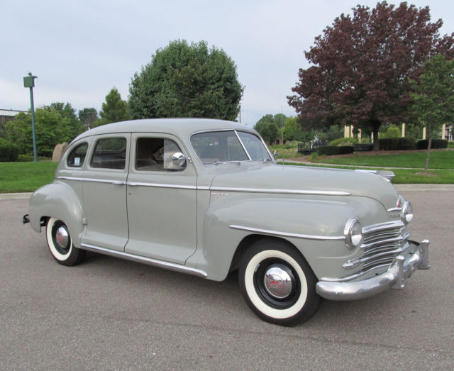 three owner 1948 plymouth special deluxe sedan with 39 000. Black Bedroom Furniture Sets. Home Design Ideas