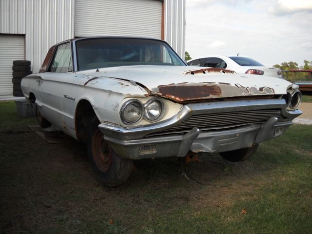 Thunderbird 1964 Parts Car Bill Of Sale No Motor Trans Has 9 Rearend