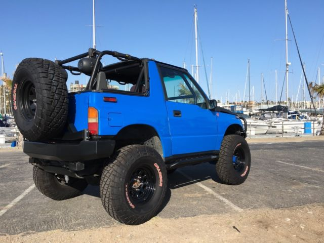 Top Gear Actual Vehicle 1992 4x4 Lifted Geo Tracker