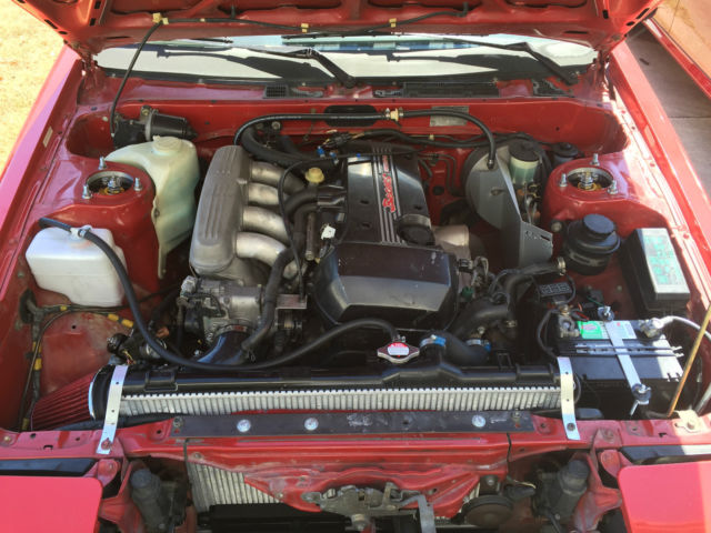 Toyota Corolla Ae Coupe With Beams Engine