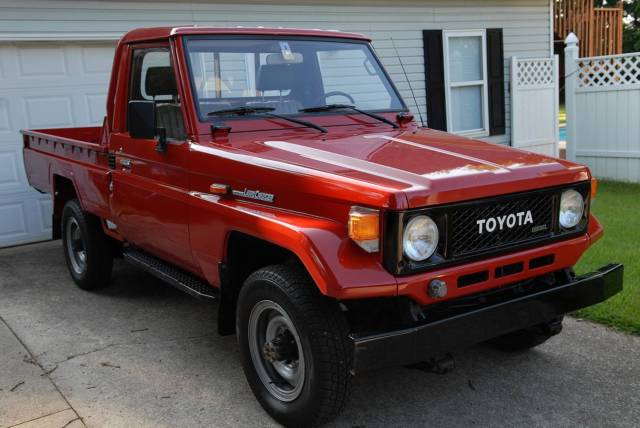 Toyota Land Cruiser Bj75 Pickup Truck Very Low 40960