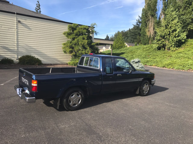 Toyota Pickup 2 4liter 22re V6 Low Miles T100 22r 4wd 3 4 Sr5 Dx At