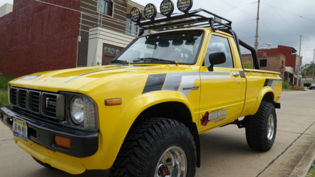 Toyota Pickup Quot Hilux Quot 1979 4x4 Four Cylinder Classic