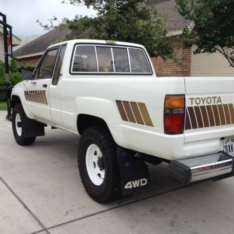 toyota pickup sr5 xtracab 4wd 1984 classic toyota other 1984 for sale. Black Bedroom Furniture Sets. Home Design Ideas