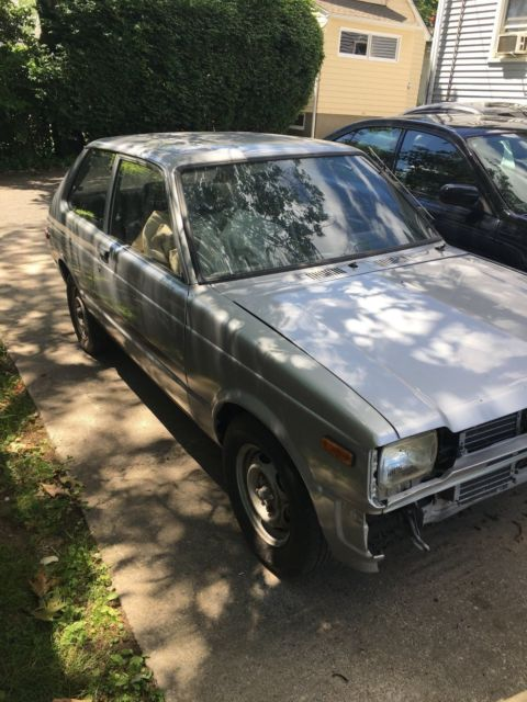 toyota starlet hatchback 1981 left in garage for years classic toyota other 1981 for sale. Black Bedroom Furniture Sets. Home Design Ideas