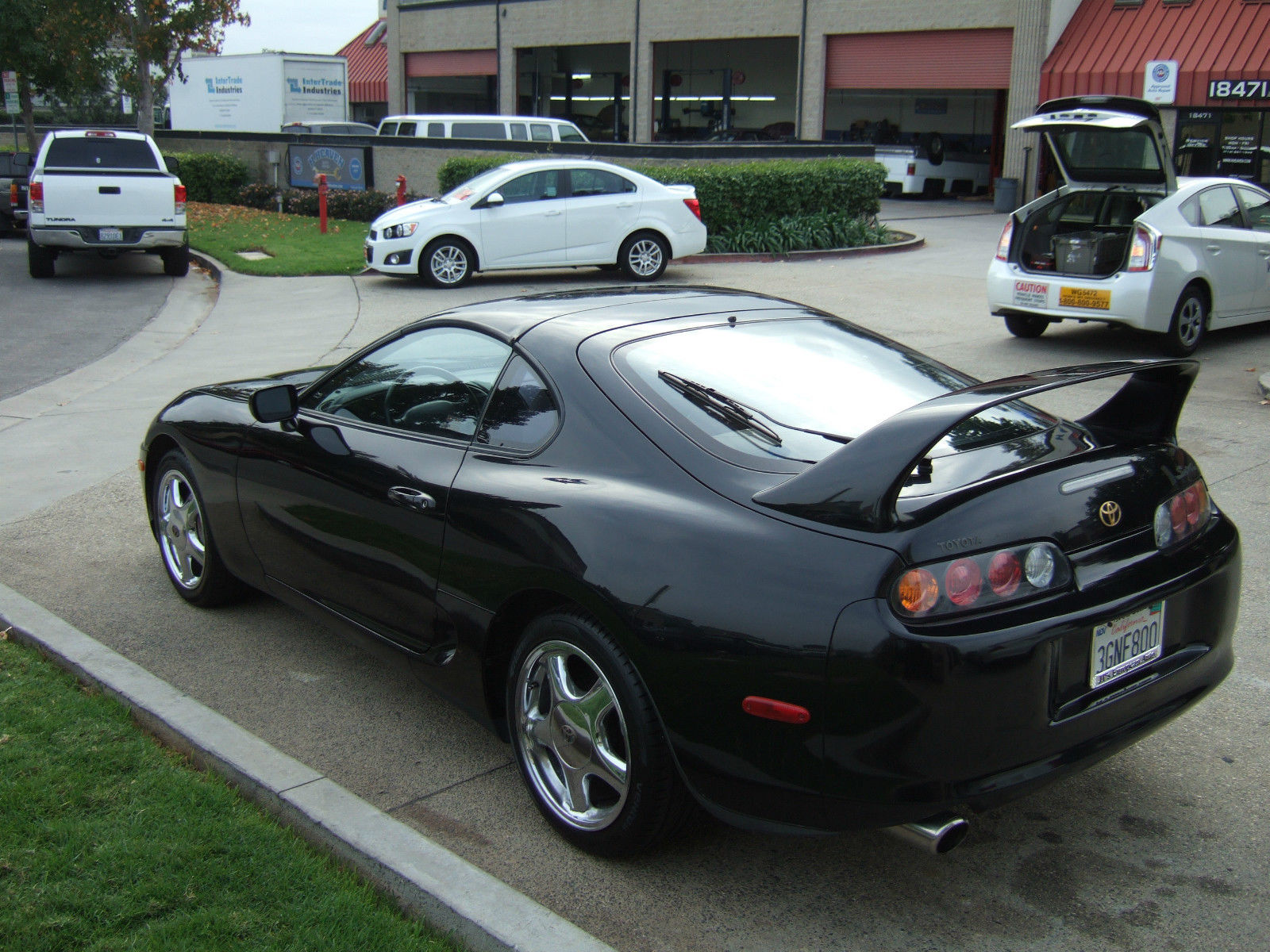 Toyota Supra Twin Turbo Speed K Miles Targa Rare Stock Blacktan