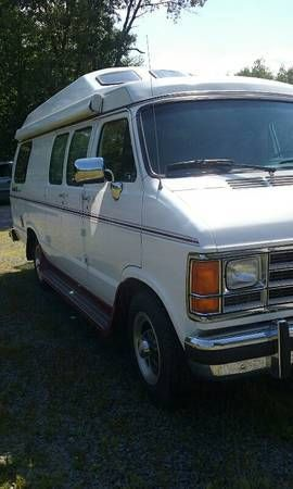 Travel Van Rv 1992 Dodge B350 Base Extended Passenger Van
