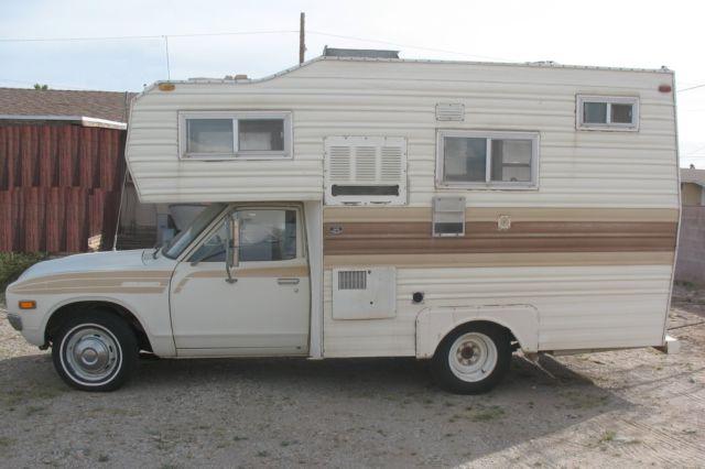 Truck Nissan Rv Camper Class C Chinook Shasta Jayco Mint