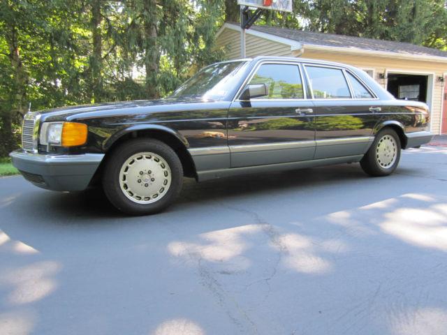 Twenty Nine Year Old Quot Classic Look Quot Mercedes Benz Classic Mercedes Benz 300 Series 1987 For Sale