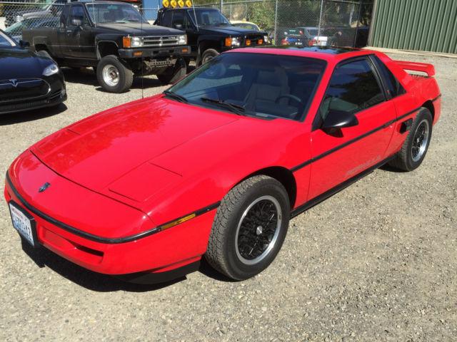1988 Fiero Formula