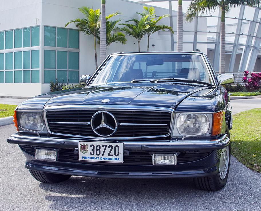 Ultra rare mercedes 1985 500sl european model classic for Mercedes benz europe