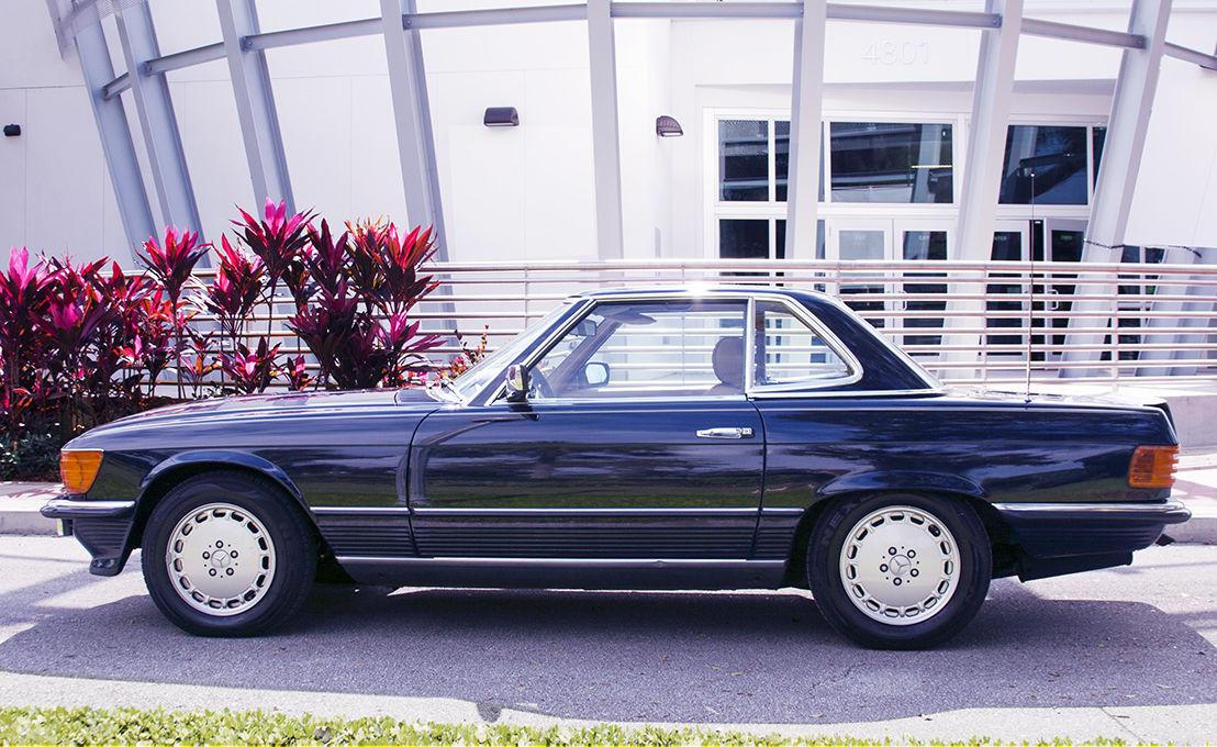 Ultra rare mercedes 1985 500sl european model classic for Mercedes benz 1980 models