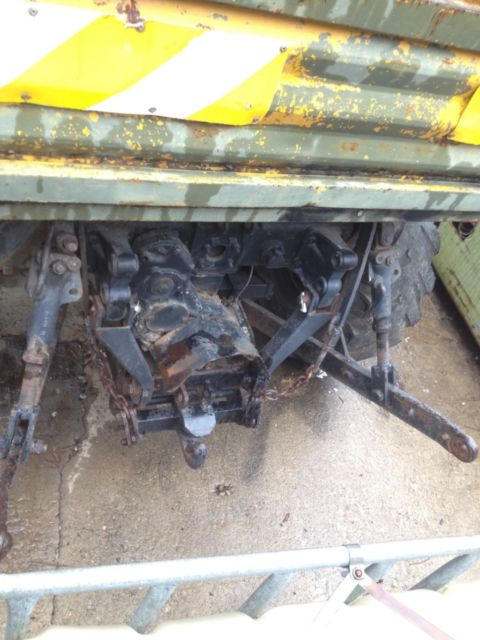 3 Point Hitch Truck : Unimog u cabriolet agriculture forestry arborist pto