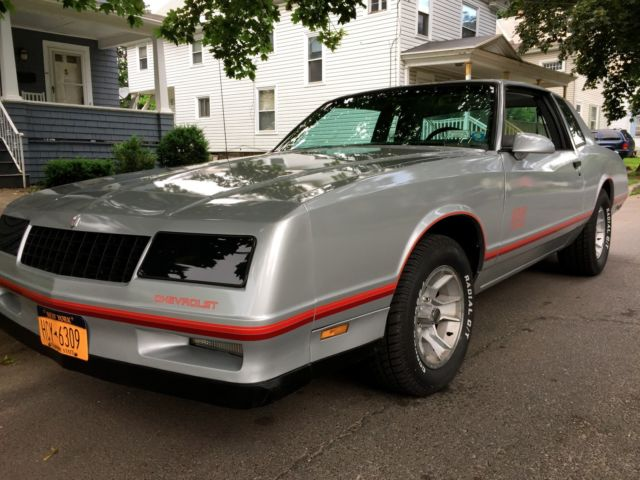 Unique Optioned Gorgeous 1987 Monte Carlo Ss Aerocoupe Classic Chevrolet Monte Carlo 1987 For Sale