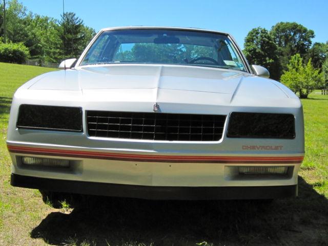 1987 monte carlo ss manual transmission